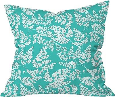 Deny Designs Aimee St Hill Amirah Blue Outdoor Throw Pillow 16 x 16