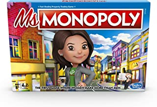 Hasbro Gaming MS. Monopoly Board Game