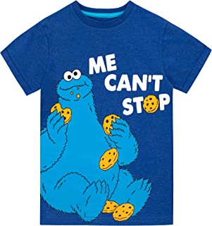 Sesame Street Boys Cookie Monster T-Shirt