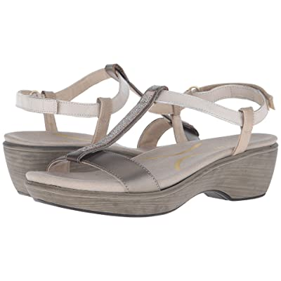 Naot Marsanne (Pewter Leather/Dusty Silver Leather/Satin Gold Leather/Pewter) Women
