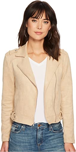 Jack by BB Dakota - Weir Faux Suede Moto Jacket
