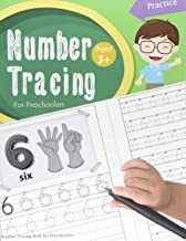 Number Tracing Book for Preschoolers: Number tracing books for kids ages 3-5,Number tracing workbook,Number Writing Practice Book,Number Tracing Book. Learning the easy Maths for kids (Volume 2)