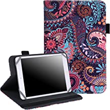 """7"""" – 8"""" Inch Tablet Case – Universal Folio Cover Protective Stand.."""