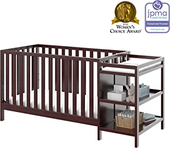 Storkcraft Pacific 4-in-1 Convertible Crib and Changer