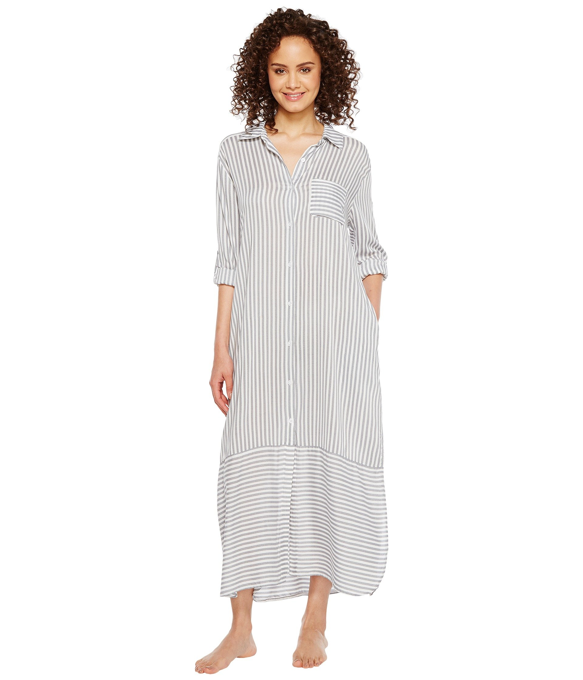 Babydoll DKNY Fashion Long Sleeve Sleep Maxi  + DKNY en VeoyCompro.net