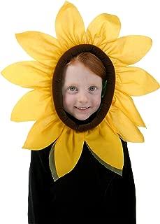 Fun Costumes Sunflower Yellow Petals Blooming Hood