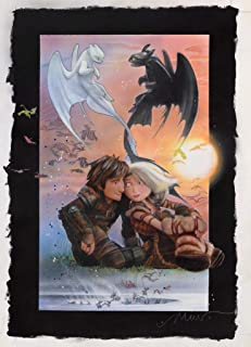 newhorizon How to Train Your Dragon The Hidden World Movie Poster 17'' x 23'' NOT A DVD