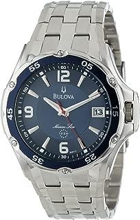 Men's 98B111 Marine Star Stainless Steel Bracelet Blue Dial Watch