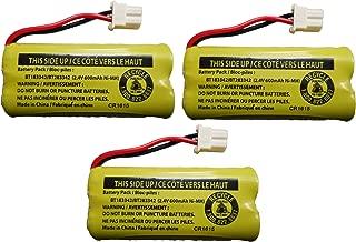 JustGreatDealz Battery BT183342 / BT283342 for Vtech AT&T Cordless Telephones CS6114 CS6419 CS6719 EL52300 CL80111 (3-Pack)