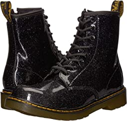 04ebacfa8eb05 Black Coated Glitter. 50. Dr. Martens Kid's Collection. 1460 Patent Glitter  Youth Delaney Boot ...