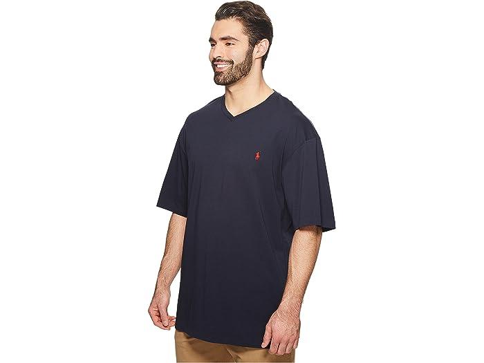 Polo Sport® Men/'s Big /&Tall Performance Jersey Short Sleeve T-Shirt-Grey-LT,XLT