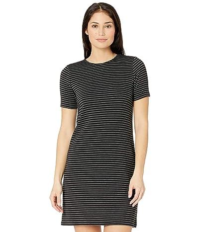 MICHAEL Michael Kors Petite Short Sleeve Crew Texture Dress Women