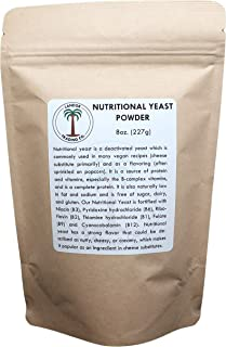 Nutritional Yeast Powder 8 Ounces - Vitamin B Fortified