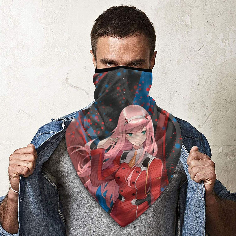 Darling In The Franxx Windproof Sports Mask Magic Scarf Bandana Balaclava