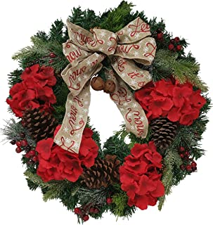 Best faux hydrangea wreath Reviews