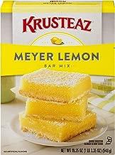 Krusteaz Meyer Lemon Bar Mix - No Artificial Flavors or Preservatives - 19.35 OZ (Pack of 1)