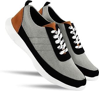 HEEDERIN Men's Comfortable Mesh Lace up Sport's/Running/Walking/Gym/Jogging/Unisex Shoe