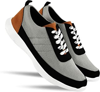 HEEDERIN Men's Comfortable Mesh Lace up Sport's/Running/Walking/Gym/Jogging/Unisex Shoe