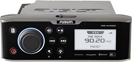 Garmin 010-01355-00 Fusion Entertainment 650 Series Marine Entertainment System with DVD/CD Player