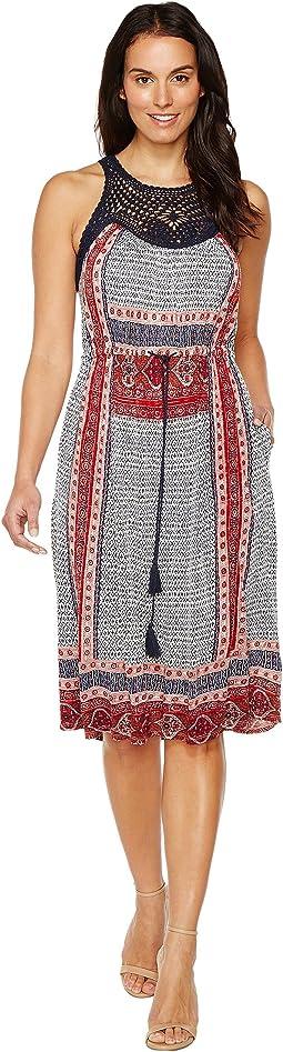Lucky Brand - Knit Macrame Dress