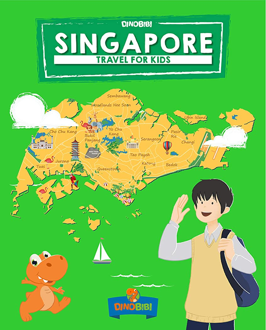 寺院熟読するパリティSingapore: Travel for kids: The fun way to discover Singapore (Travel Guide For Kids Book 3) (English Edition)
