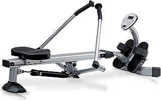 comprar comparacion Jk Fitness JK5070 Máquina de Remo para Fitness, Unisex, Silver/Nero