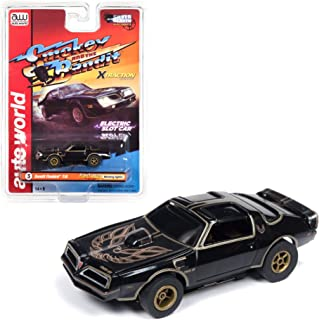 Auto World Xtraction 1977 Firebird Smokey and The Bandit HO Scale Slot Car SC339-3