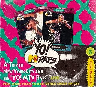 1991 yo mtv raps cards