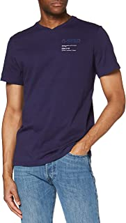 G-Star Raw Men's Logo Chest Graphic V-Neck T-Shirt