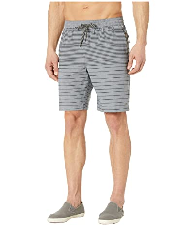Quiksilver Waterman Suva Stripe 20 Amphibian Shorts (Midnight Navy) Men