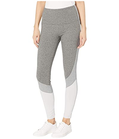 Lysse Oliva Cotton Spandex Color-Block Leggings (Grey Combo) Women