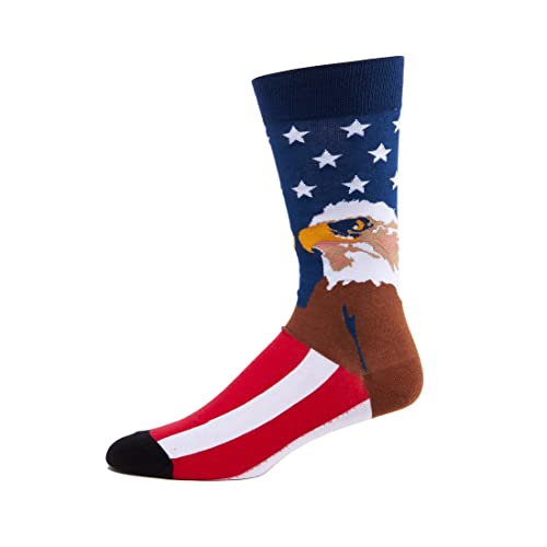 multiple colors Eagles Logo Over the Calf Socks