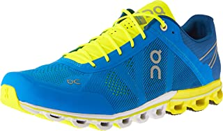 ON Men's Cloudflow Running Shoes, Malibu/Neon, 9 AU