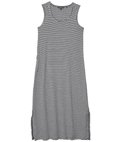 Toad&Co Samba Paseo Midi Dress (True Navy Stripe) Women