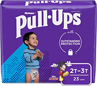 Pull-Ups Learning Designs Boys` Training Pants, 2T-3T, 23 Count