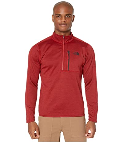 The North Face Canyonlands 1/2 Zip (Cardinal Red Heather) Men