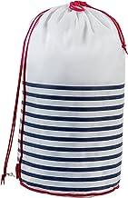 Compactor Laundry Bag, Mariner Model, Polypropylene, Diameter 35 x H.70 cm, RAN5300, Non Woven 75Gm, White/Blue