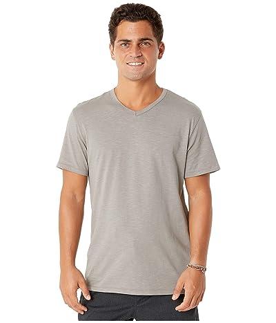 Alternative Slub Keeper V-Neck (Elephant Grey) Men