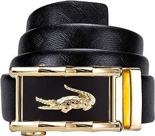 Dubulle Genuine Leathe Belt for Mens Jeans Fashion Designer Belt for Wedding