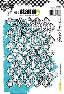 Carabelle Studio SA60356 A6 Stamp Moroccan Tiles by B. Koopsen
