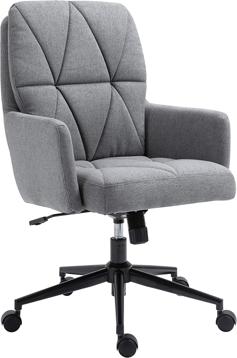 Vinsetto 5% OFF Office Chair Swivel Double Upholstered Task Purchase with