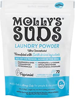 Molly`s Suds Original Laundry Powder 70 Loads, Natural Laundry Soap for Sensitive Skin, 47 Ounce (Pack of 1)