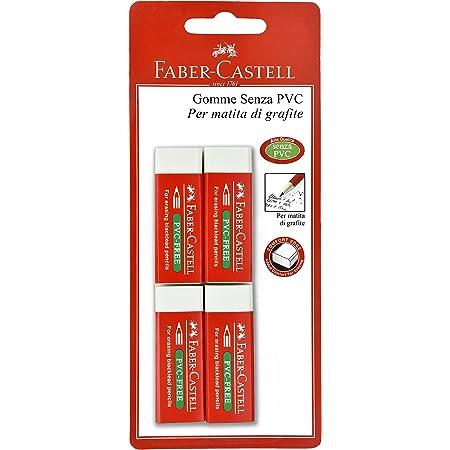 Faber-Castell 189535 4 Gomme Vinile