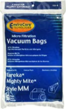 EnviroCare Replacement Vacuum Style MM Eureka Mighty Mite 3670 and 3680 Series Canisters 9 Bags, White