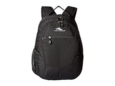 High Sierra Curve Daypack (Black) Day Pack Bags