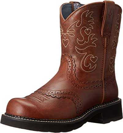 ARIAT Women's Fatbaby Saddle Western Cowboy Boot : boots