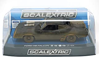 Scalextric C3983 Ford Xb Falcon Slot Race Car, Weathered Matte Black