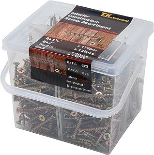 Phillips Bugle Head w//Coarse Thread BCP437 BCP Fasteners 265 Qty #8 x 1 Sheetrock Drywall Screws