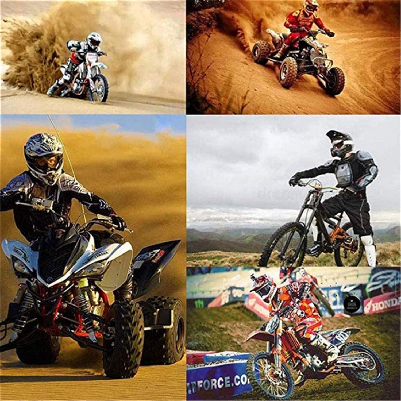 KAAM Casques Motocross Adultes Enfants Casque Cross Set Casque De Moto D.O.T Certifi/é Avec Lunettes//Gants//Masque bleu,S BMX Casque Int/égral Enduro Downhill Quad Moto MTB ATV Scooter Casque