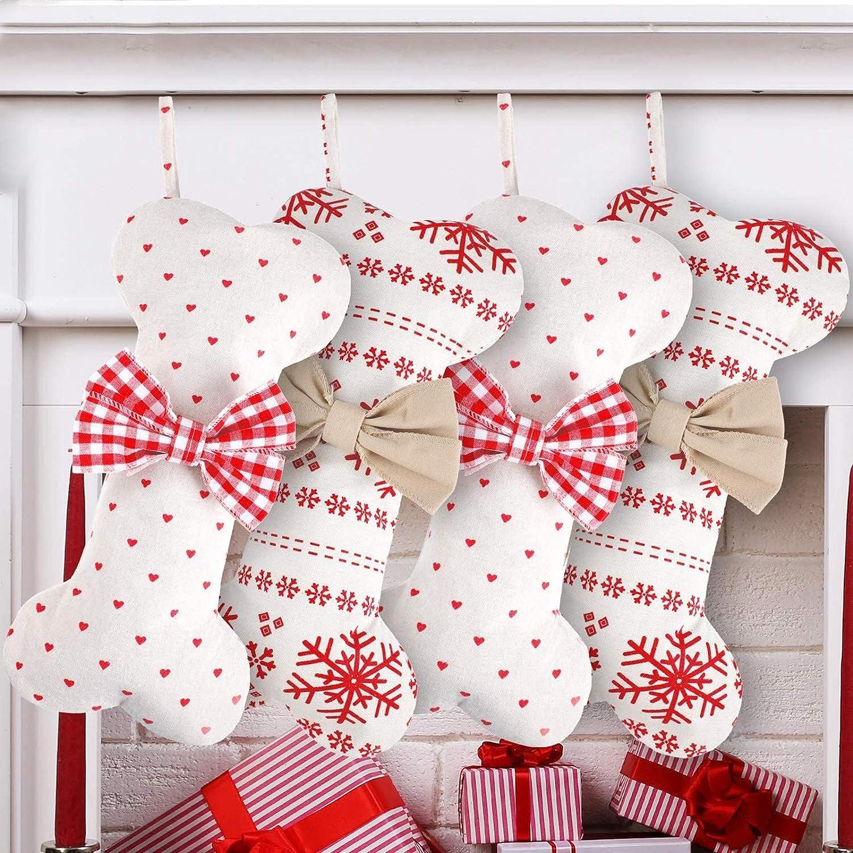 4 Pieces Christmas service Stocking Latest item Burlap